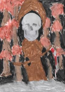 La Faucheuse Noire par Hippolyte
