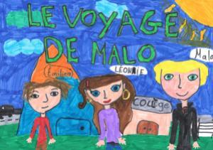 Le voyage de Malo par Juliette